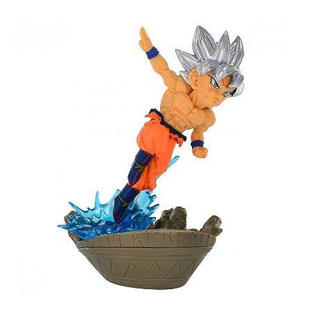 Action Figure - Goku Ultra Instinto Superior - Dragon Ball Super - Bandai Banpresto