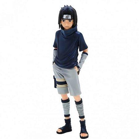 Action Figure - Sasuke Uchiha - Naruto Shippuden - Bandai Banpresto