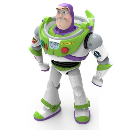 Boneco Plast Buzz Lightyear Com Som Toy Sory - Toyng