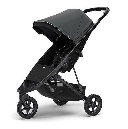 Carrinho de Bebê Spring Shadow Grey Chassi Black - Thule