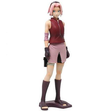 Action Figure - Sakura Uchiha - Naruto Shippuden – Bandai Banpresto