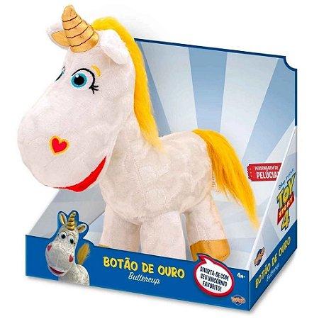 Pelucia Toy Story 4 Unicornio Botao de Ouro - Toyng
