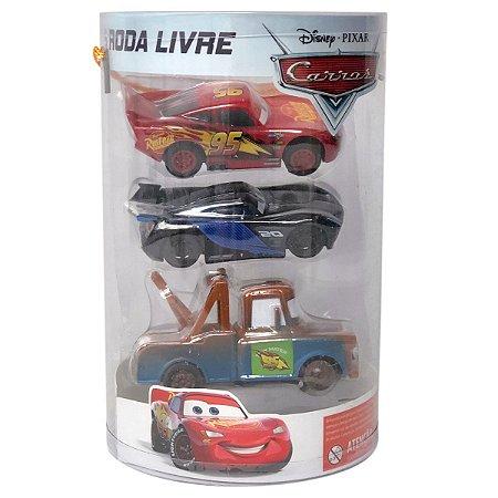 Conjunto Roda Livre (+3 anos) - Carros - Disney - Toyng