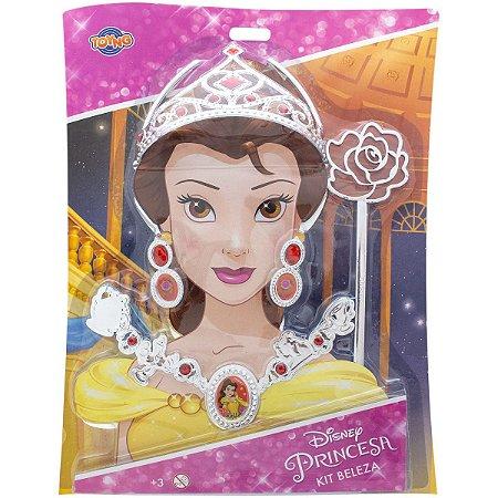 Conjunto de Beleza Infantil (+3 anos) - Princesa Bela - Disney - Toyng