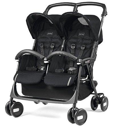 Carrinho Aria Shopper Twin - Class Black - Peg-Pérego