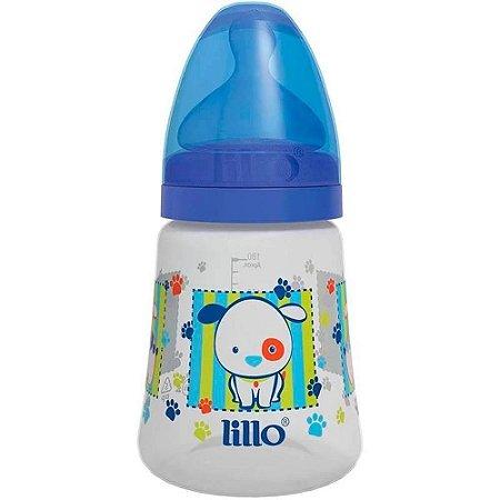 Mamadeira Design 180ml Tam.1 (+0M) - Cachorrinho Azul - Lillo