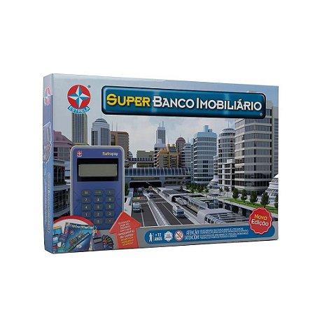 Jogo Super Banco Imobiliário (+12 anos) - Estrela