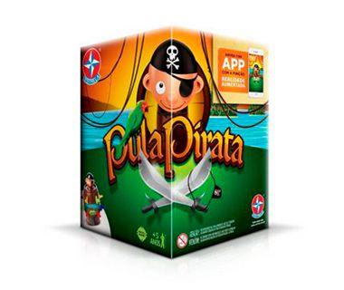 Jogo Pula Pirata (+5 anos) - Estrela