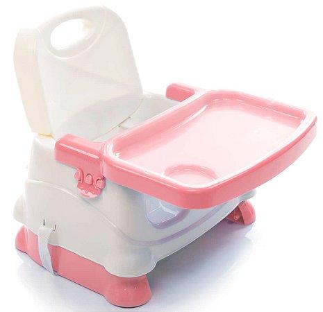 Assento Elevatório para Alimentação Fun (até 15 kg) - Rosa - Voyage