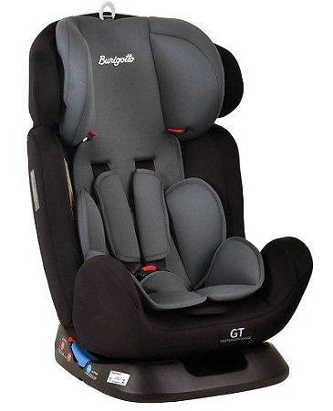 CADEIRINHA PARA AUTO GT 0.1.2.3 BLACK (0 a 36kg) - BURIGOTTO