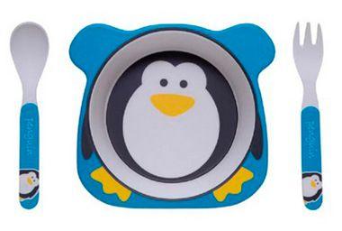 Conjunto de Alimentação Eco (+6M) - Pinguim - Girotondo