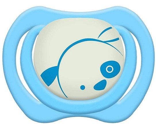 Chupeta Design Tam.2 (+6M) - Cachorrinho Azul - Lillo