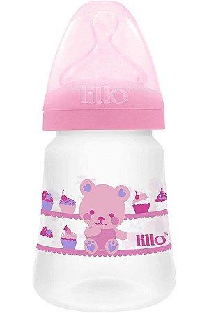 Mamadeira Design 180 ml (0m+) Tam. 1 - Ursinho Rosa - Lillo