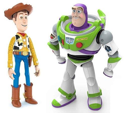 Conjunto de Bonecos (+3 anos) - Woody e Buzz - Toy Story - Toyng
