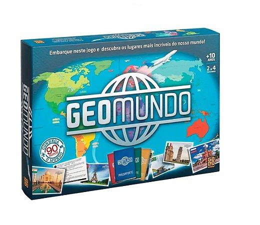 Jogo Geomundo (+10 anos) - Grow