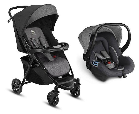 Carrinho de Bebê Travel System Woya (até 15 kg) - Cinza - CBX