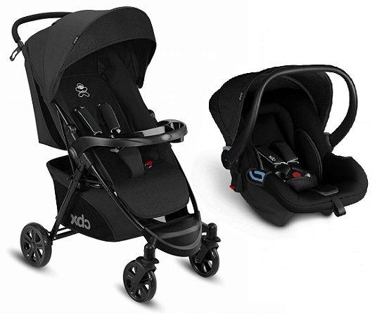 Carrinho de Bebê Travel System Woya (até 15 kg) - Preto - CBX