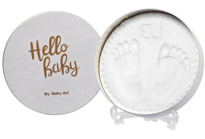 Magic Box Decorativo Redondo - Shiny Vibes - Baby Art