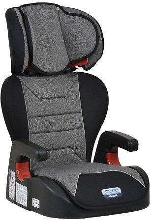 Cadeira para Carro Protege (até 36 kg) - Cinza Mesclado - Burigotto