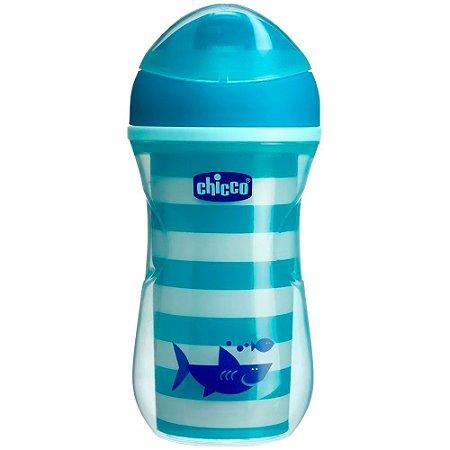 Copo Active Cup 266ml (+14M) - Tubarão - Chicco