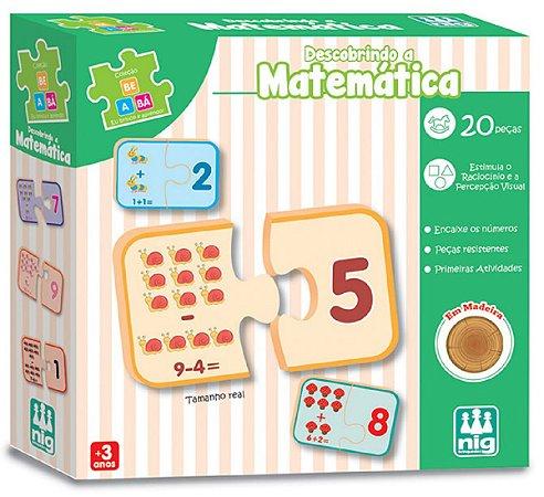 Jogo Educativo Descobrindo a Matemática - NIG Brinquedos