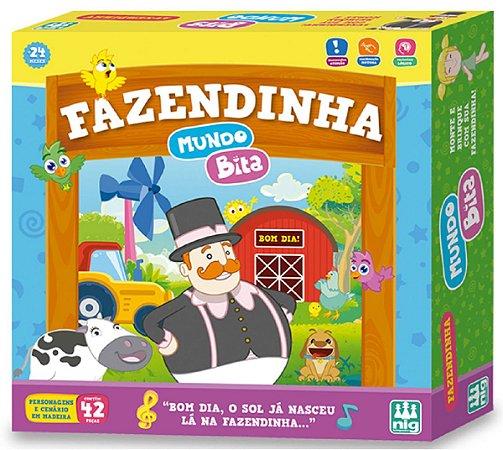 Jogo Fazendinha (+2 anos) - Mundo Bita - NIG Brinquedos