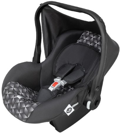 Bebê Conforto Nino (até 13 kg) - Preto - Tutti Baby