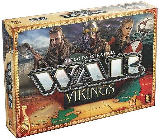 Jogo War Vikings (+10 anos) - Grow