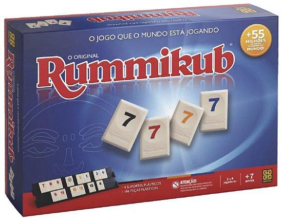 Jogo Rummikub (+7 anos) - Grow