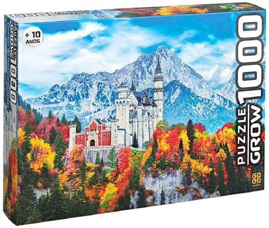 Quebra-Cabeça 1000 Peças (+10 anos) - Castelo de Neuschwanstein - Grow