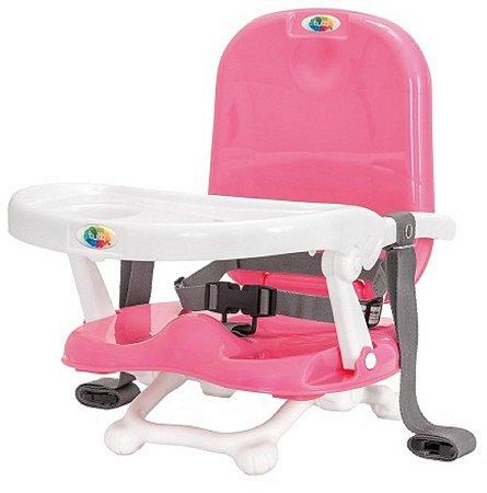 Cadeira de Alimentação Portátil Papinha (até 15 kg) - Rosa - Tutti Baby