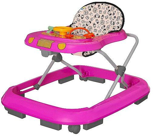 Andador Safari (+6M) - Rosa - Tutti Baby