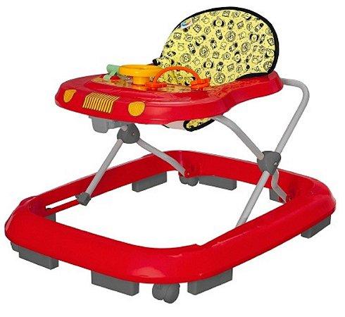 Andador Safari (+6M) - Vermelho - Tutti Baby