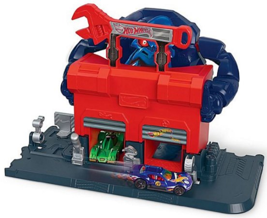 Ataque De Gorila Na Garagem Hot Wheels - Mattel