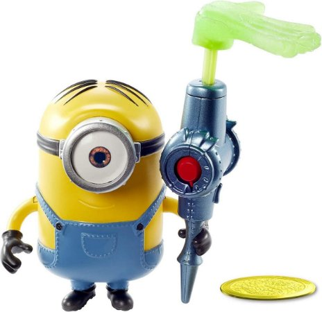 Boneco Minions Travessos (+4 anos) - Stuart - Mattel