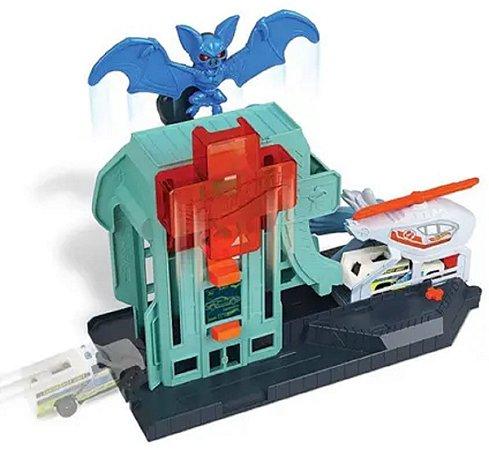 Ataque De Morcegos No Hospital Hot Wheels - Mattel