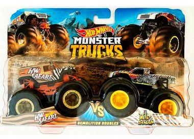 Carrinhos Monster Trucks HW Safari VS Wild Streak (+3 anos) - Hot Wheels - Mattel