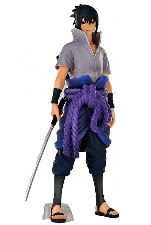 Action Figure - Sasuke Uchihai - Naruto Shippuden - Bandai Banpresto
