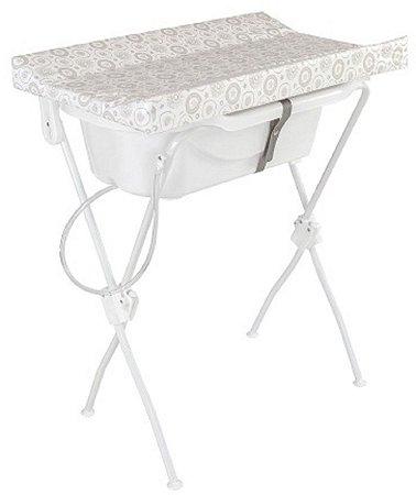 Banheira com Trocador Floripa (até 10 kg) - Branco - Tutti Baby