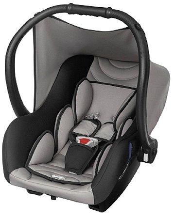 Bebê Conforto Ello Preto e Cinza (0 à 13 Kg) - Tutti Baby
