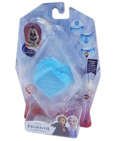 Mini Figura Colecionável Cristal Mágico Frozen Olaf - Toyng