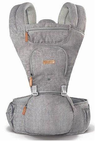 Canguru Hipseat (até 15 kg) - Cinza - Fisher Price