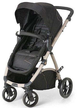 Carrinho de Bebê Maly Black Sand (Até 15 Kg) - Dzieco