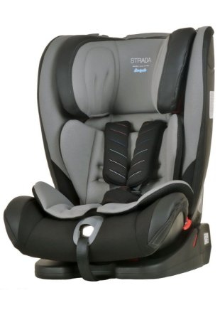 Cadeira para Carro Strada com Isofix (até 36 kg) - Preto e Cinza - Burigotto