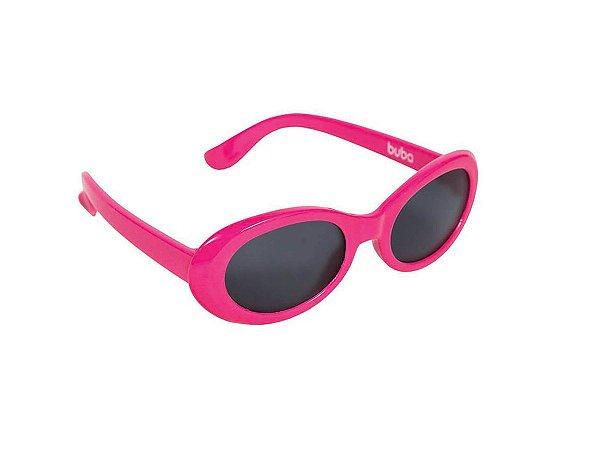 Óculos De Sol Baby Armação Flexível Pink - Buba