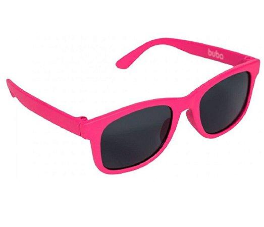Óculos De Sol Baby Armação Flexível Rosa - Buba
