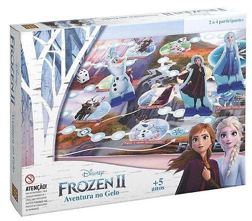 Jogo Aventura no Gelo (+5 anos) - Frozen - Grow