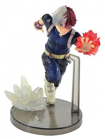 Action Figure - My Hero Academy - Shoto Todoroki - Bandai Banpresto