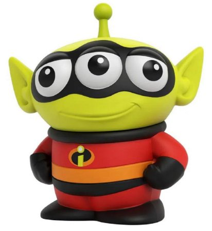 Mini Figura Pixar Alien Sr Incrível - Mattel