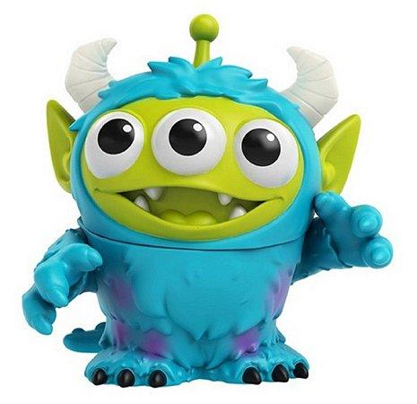 Mini Figura Pixar Alien Sulley Monstros SA - Mattel